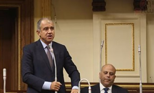 FILE - President of the Federation of Egyptian Industries (FEI) Mohamed el Sweidi