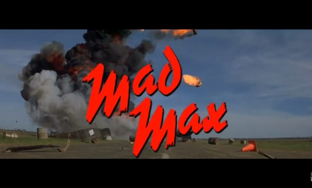 Screencap from the 1979 Mad Max trailer, November 23, 2017 - N.B. on Youtube
