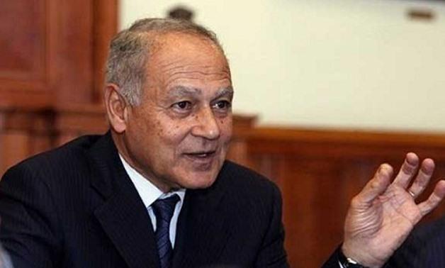File - Arab League Secretary General Ahmed Abul Gheit