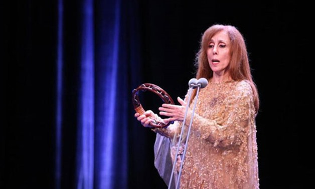 Fayrouz on stage - Photo Courtesy: Archive