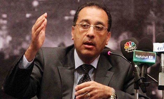 FILE- Housing Minister Mostafa Madbouly.