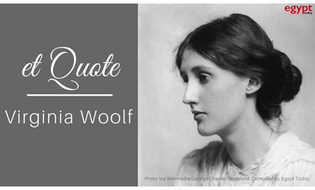 Portrait of Virginia Woolf (January 25, 1882 – March 28, 1941) - Wikimedia/George Charles Beresford – Compiled by Egypt Today