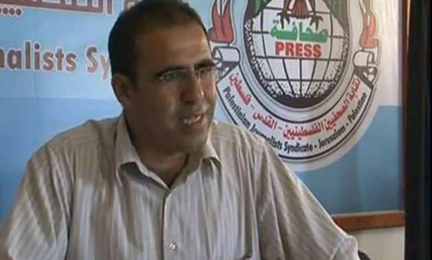 Chairman of the Palestinian Syndicate of Journalists Tahseen el-Astal – Courtesy of his official Facebook account