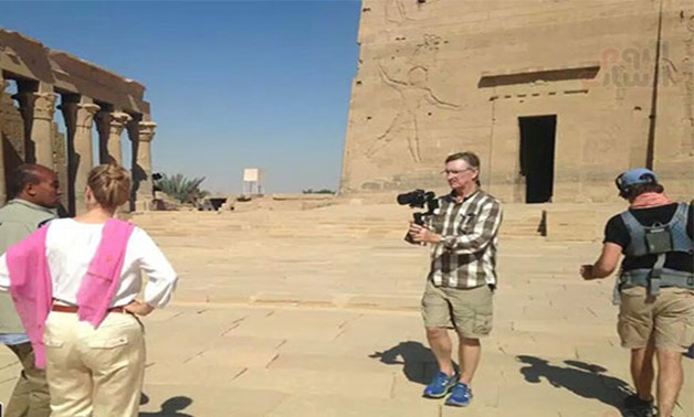 FILE: Australian delegation filming film to attract tourism in Luxor