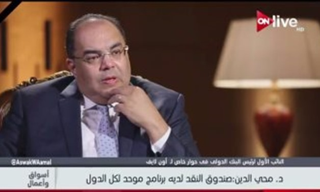 Mahmoud Mohieldin, Executive Director of the International Monetary Fund and United Nations Special Envoy for Financing for Sustainable Development.
