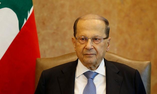 President of the Lebanese Republic, Michel Aoun - FILE
