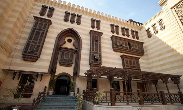External outlook of Islamic art Museum, Egypt Best Places Facebook Page, Cairo, Egypt, 21 November