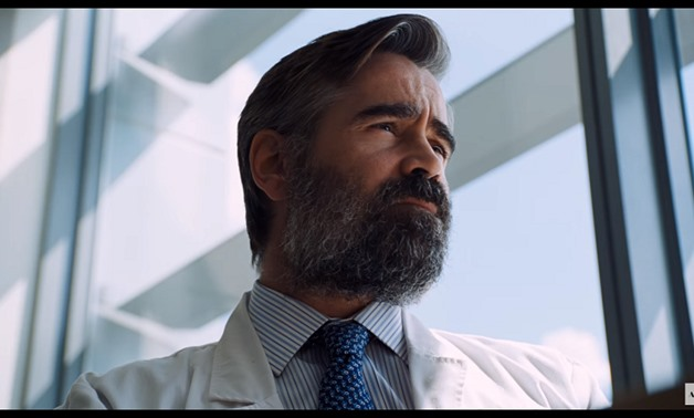 Screencap from the official HD trailer showing Collin Farrel, November 29, 2017 – YouTube/A24