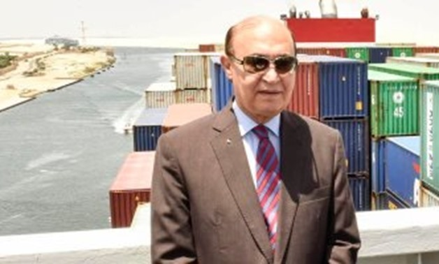FILE - Mohab Mamish, Chairman of Suez Canal Authority