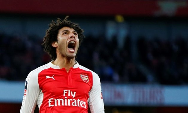Football Soccer - Arsenal v Burnley - FA Cup Fourth Round - Emirates Stadium - 30/1/16 Arsenal's Mohamed Elneny reacts Action Images via Reuters / John Sibley Livepic