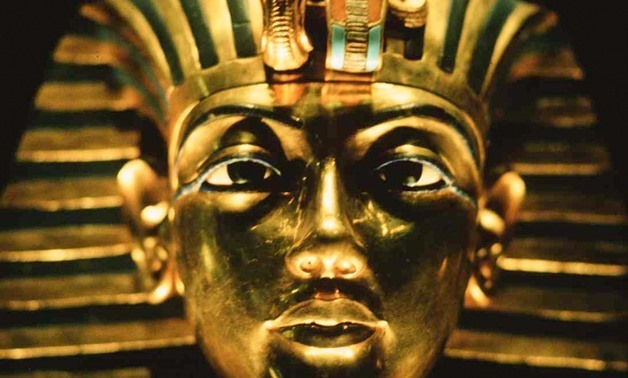 he Golden Mask of king Tutankhamen who was born in the 18th dynasty around 1341 B.C. and was the 12th pharaoh of that period. via Wikimedia Commons