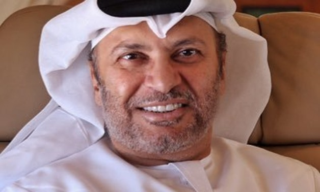 Foreign Minister of the United Arab Emirates Anwar Gargash – Courtesy of his official Twitter account