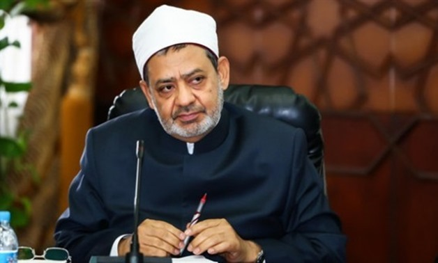 File – Grand Imam of Al-Azhar Ahmed al-Tayeb- press photo