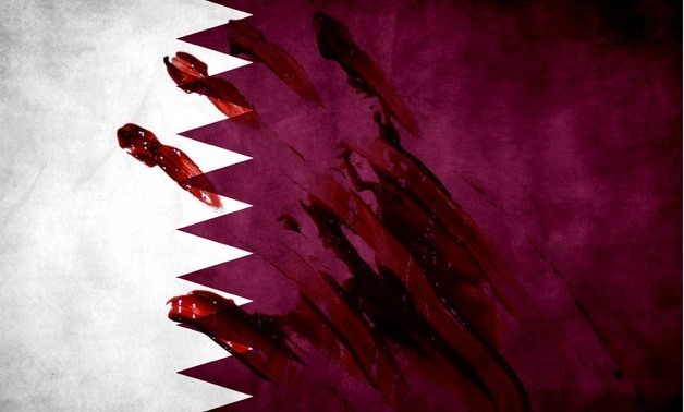 FILE – Qatari Flag