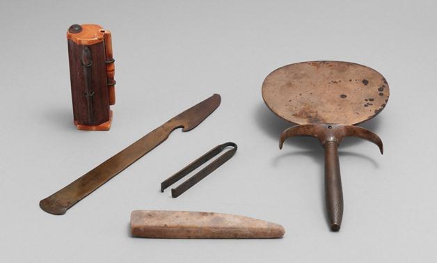 Ancient Egyptian hygiene tools [Photo Courtesy: Metropolitan Museum of Art]