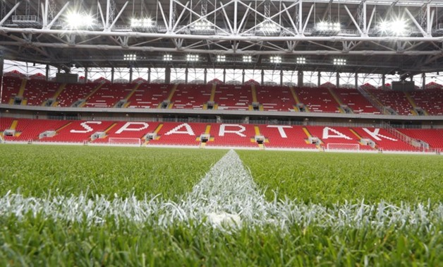 An interior view shows the Otkrytie Arena, the home stadium of Spartak Moscow football club, in Moscow, Russia August 27, 2014. REUTERS/Sergei Karpukhin/File Photo