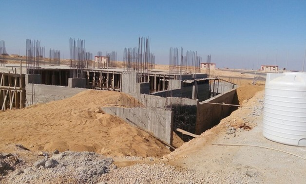 FILE – Development works in one of the Ministry of Housing projects; Beit Al-Watan