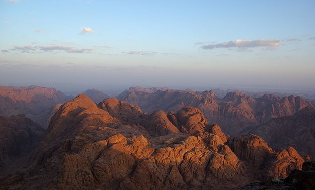 Overview at South Sinai Canyons – Wikimedia
