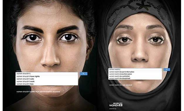 UN Women ad displaying genuine Google searches dated March 9 reveals widespread sexism, 2013 – Official UN Women website