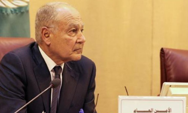 FILE – Secretary-General of League of Arab States (LAS), Ahmed Aboul Gheit