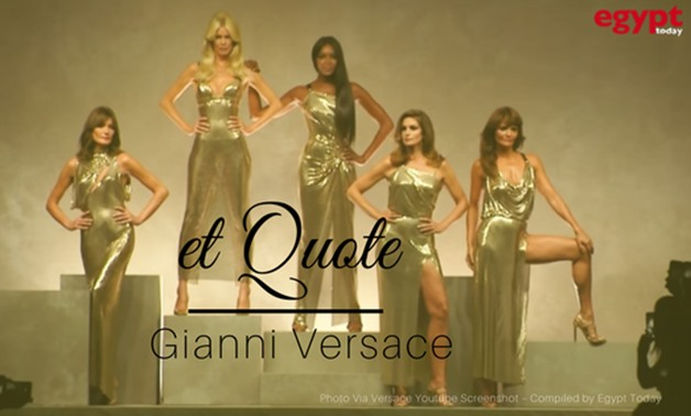 Header Photo Via Versace Youtube Screenshot – Compiled by Egypt Today