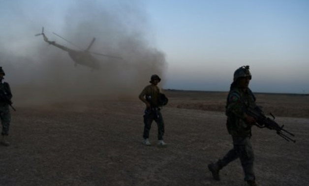 © AFP/File | Afghan Commandos participate in a combat training in Helmand province