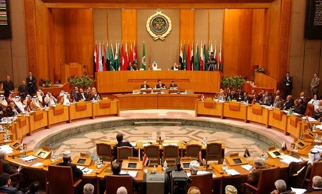 File - The Council of the Arab League will hold an extraordinary session on Saturday to discuss the potential implications and developments of the US embassy move announcement