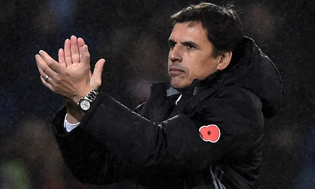 Soccer Football - International Friendly - Wales vs Panama - Cardiff City Stadium, Cardiff, Britain - November 14, 2017 Wales manager Chris Coleman applauds fans after the match - REUTERS/Rebecca Naden