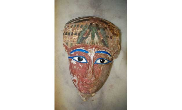 Funerary mask from the tomb of Amun's goldsmith Amenemhat to open to the public on December 9 - Egypt Today