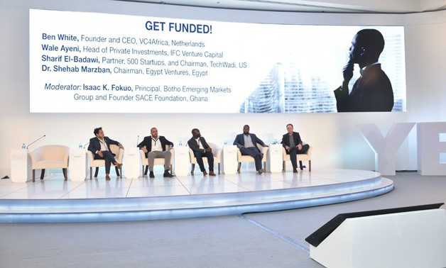 Second session of Africa 2017 Forum featured methods of financing start-ups and getting venture capital for businesses- Press Photo