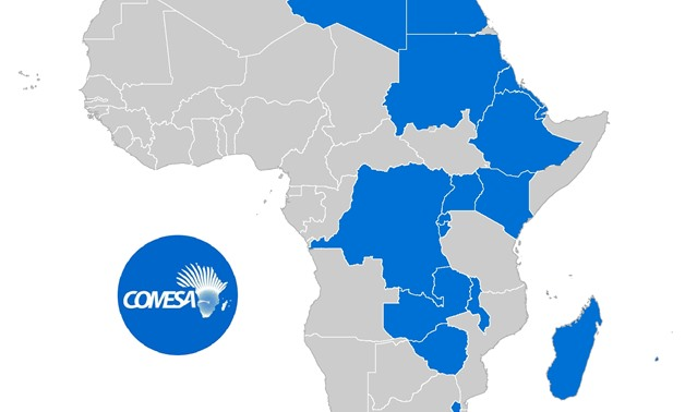 Map of COMESA member countries- Photo courtesy of UNECA webite