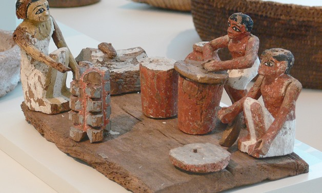Ancient Egyptian Kitchen Model - Photo Courtesy: Andreas Praefcke