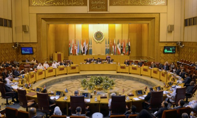 A general view of the Arab League delegates meeting- Egypt December 5 -2017 REUTERS