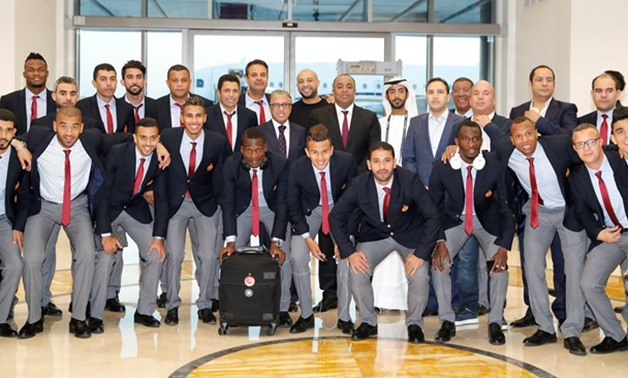 Wydad Casablanca`s team arrives at Abu Dhabi to participate in Club World Cup – Courtesy of FIFA website