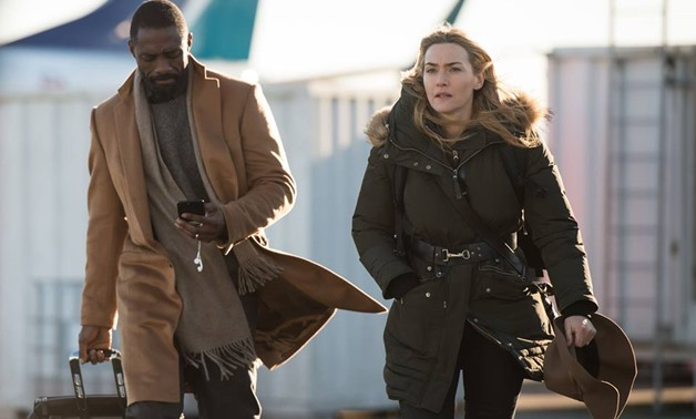 "Idris Elba, and Kate Winslet in ""The Mountain Between us"" [Photo Courtesy: ""The Mountain Between us"" official Facebook page]"