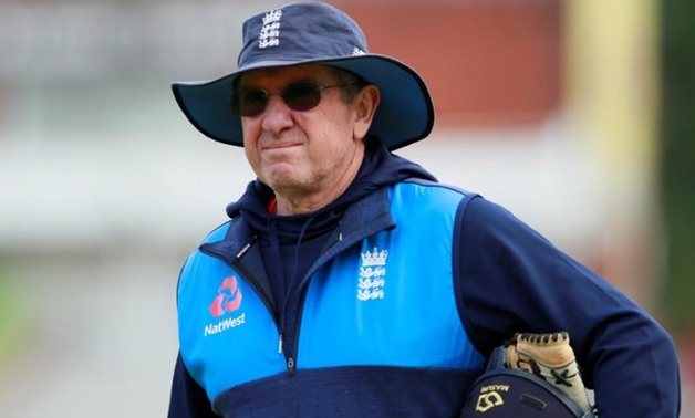 FILE PHOTO - Cricket - England Nets - Emirates Old Trafford, Manchester, Britain - September 18, 2017 England head coach Trevor Bayliss during nets Action Images via Reuters/Jason Cairnduff