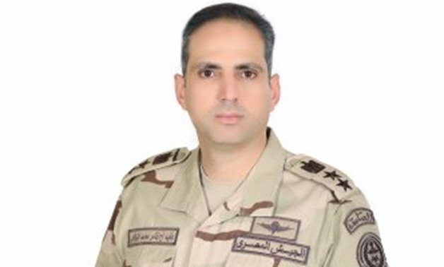 FILE - Military spokes person colonel Tamer Al Refaai