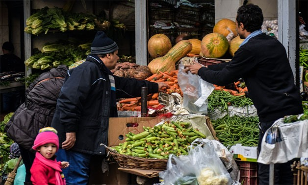 A traditional vegetables market in Cairo – Archive/Mahmoud Fakhry