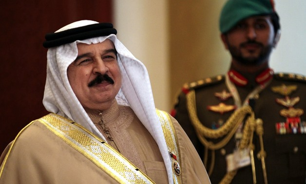 King Hamad bin Isa's comments came during a meeting at the Bahrain Defense Force's headquarters- Reuters/File Photo