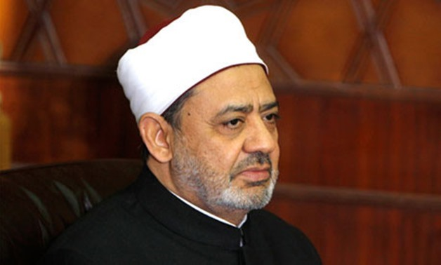 FILE - Grand Imam of Al-Azhar Ahmed el-Tayyeb