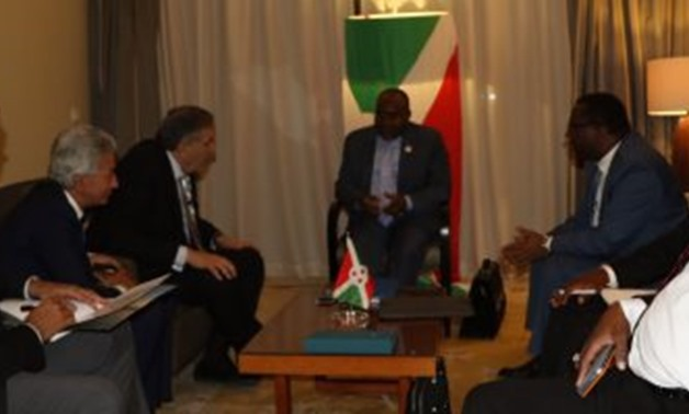 Alwakil during his meeting with an African delegation - File Photo