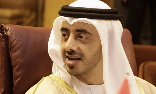 UAE Minister of Foreign Affairs and International Cooperation Sheikh Abdullah bin Zayed bin Sultan Al Nahyan - FILE PHOTO