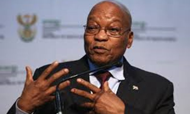 President of South Africa, Jacob Zuma gestures as he speaks during the Energy Indaba conference in Midrand, South Africa, December 7, 2017. REUTERS/Siphiwe Sibeko