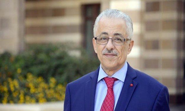 Minister of Education Tarek Shawky  - Press Photo