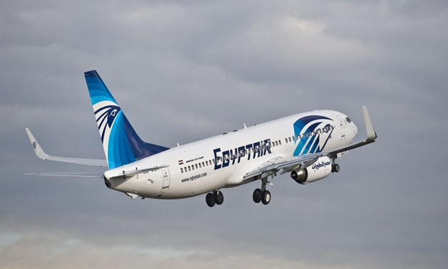 FILE - EgyptAir jet - press photo