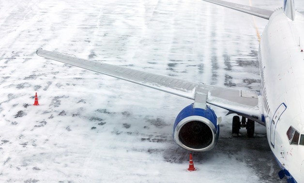 Schiphol airport, just outside Amsterdam, was forced to cancel 430 flights already by early afternoon -- about a third of all of flights in or out of one of Europe's top five busiest air hubs, and many others faced long delays. (Shutterstock/File)