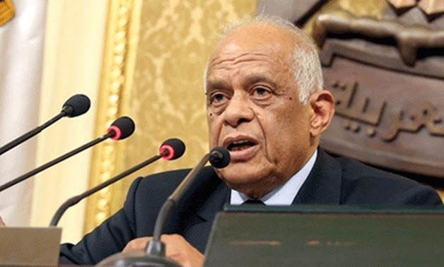 Speaker of the Egyptian parliament, Ali Abdel Aal – File photo
