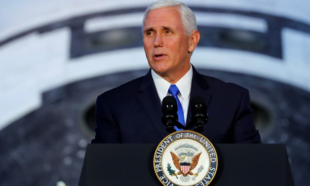 American President VP Mike Pence delayed his scheduled Middle East tour as he is preparing to chair a Senate session to eventually break the tie on new major tax cuts next week - Reuters