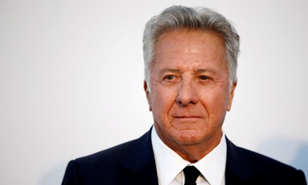 Actor Dustin Hoffman poses at the 70th Cannes Film Festival's amfAR Cinema Against AIDS 2017 event in Antibes, France, May 25, 2017. REUTERS/Stephane Mahe
