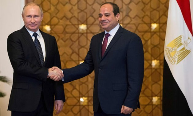 On November 19, 2015, during Russian president Putin's visit to Egypt, Egypt and Russia signed an initial agreement under which Russia will build and finance Egypt's first nuclear power plant in the city of Dabaa.